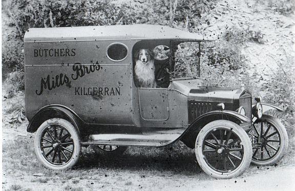 Butcher's van with unlicensed driver