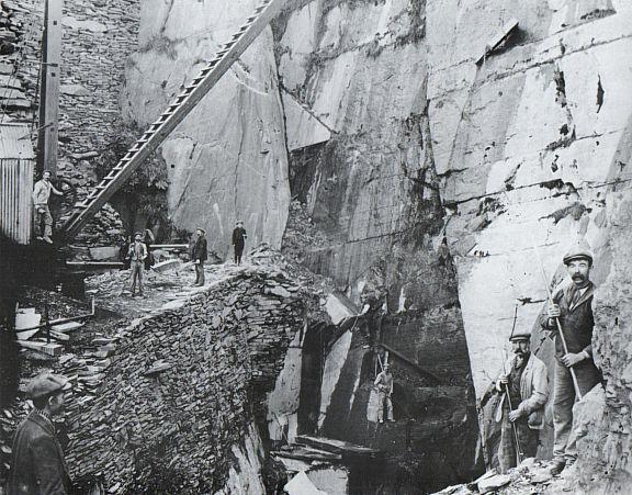 slate quarrying
