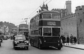 Cardiff Trolley bus
